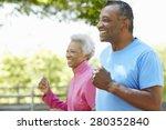 Senior African American Couple...