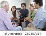 meeting of support group | Shutterstock . vector #280367384