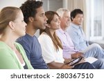 meeting of support group | Shutterstock . vector #280367510