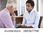 middle aged man having... | Shutterstock . vector #280367708