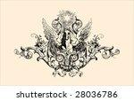 vintage engraving | Shutterstock .eps vector #28036786