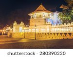 night view of the temple of the ... | Shutterstock . vector #280390220