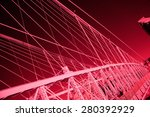 red infrared closeup image of... | Shutterstock . vector #280392929