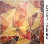 polygon mosaic background... | Shutterstock .eps vector #280401599