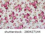 vintage floral chintz | Shutterstock . vector #280427144