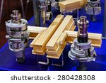 close up of stainless steel and ... | Shutterstock . vector #280428308