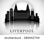 Modern Liverpool City Skyline...