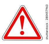 alert sign  | Shutterstock .eps vector #280457963
