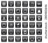 sign wash symbol | Shutterstock .eps vector #280483646