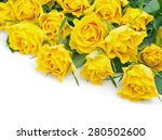 Bouquet Of Yellow Roses...