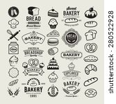 Bakery Logotypes Set. Bakery...