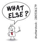 what else. joe  the businessman ... | Shutterstock .eps vector #280536179