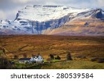 typical scottish landscape with ... | Shutterstock . vector #280539584