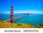 golden gate bridge in san... | Shutterstock . vector #280541924