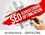 seo  search engine optimization ... | Shutterstock . vector #280542386
