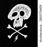 retro vintage badge or logotype ... | Shutterstock .eps vector #280570409