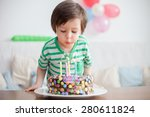Beautiful Adorable Four Year...