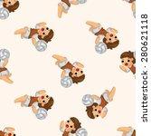 volleyball player  seamless... | Shutterstock . vector #280621118
