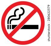 no smoking sign | Shutterstock .eps vector #280622579