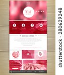 wine concept web site design....