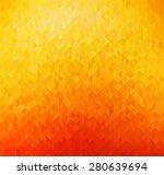 Vector Abstract Orange Color...