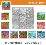 puzzle game for children with...