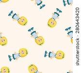 alice in wonderland  seamless... | Shutterstock . vector #280643420