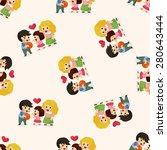 family  seamless pattern   Shutterstock . vector #280643444