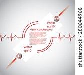 Abstract Medical Cardiology Ek...
