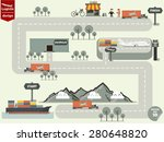 vector illustration of... | Shutterstock .eps vector #280648820