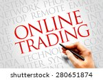 Online Trading Word Cloud...