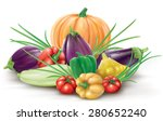 group of different colorful... | Shutterstock .eps vector #280652240