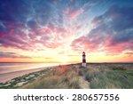Sunrise At Lighthouse List East ...