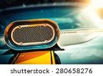 powerful muscle car. closeup... | Shutterstock . vector #280658276