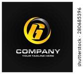 Letter G Logo   Orange And Gra...