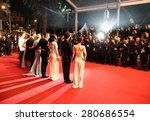 collin farrell attend the ... | Shutterstock . vector #280686554