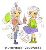 birthday gift | Shutterstock .eps vector #280690556
