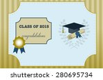 vector illustration of gold... | Shutterstock .eps vector #280695734