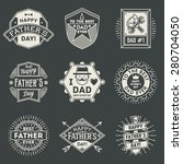 happy father s day design... | Shutterstock .eps vector #280704050