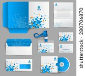 corporate identity stationery... | Shutterstock .eps vector #280706870