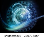 orbits of destiny series.... | Shutterstock . vector #280734854