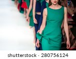 fashion show  a catwalk event | Shutterstock . vector #280756124