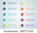 number bullet points vector 2 | Shutterstock .eps vector #280777163