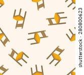 chair  seamless pattern | Shutterstock . vector #280800623