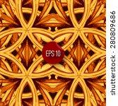 ornamental seamless pattern.... | Shutterstock .eps vector #280809686