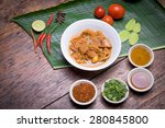 kaeng hung ley moo  pork curry  ... | Shutterstock . vector #280845800