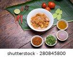 kaeng hung ley moo  pork curry  ... | Shutterstock . vector #280845800