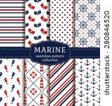 sea and nautical backgrounds in ... | Shutterstock .eps vector #280846520
