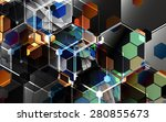 technology abstract background...   Shutterstock .eps vector #280855673