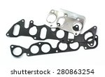 gaskets for motor | Shutterstock . vector #280863254